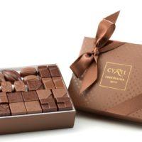 Coffret maison noir et lait 52 chocolates $30,45 (incluye bolsa de obsequio)