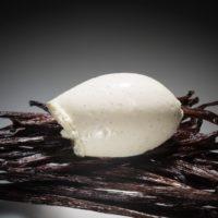 Helado perfumado con vainilla natural origen Ecuador.