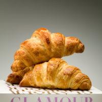 El croissant parisino de tradición francesa. $0,65