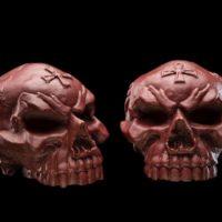Medio cráneo gótico $19,80