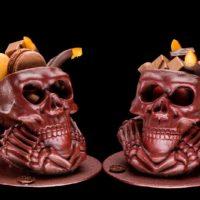 Calavera cráneo abierto $15,50