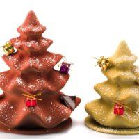 Disponible en chocolate negro y con leche, dos tamaños. Tamaño 1 $19,50 Tamaño 2 $28,90