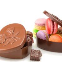 Disponible en chocolate negro 71% de cacao y chocolate con leche 45% de cacao $5,50 (+ los productos escogidos)